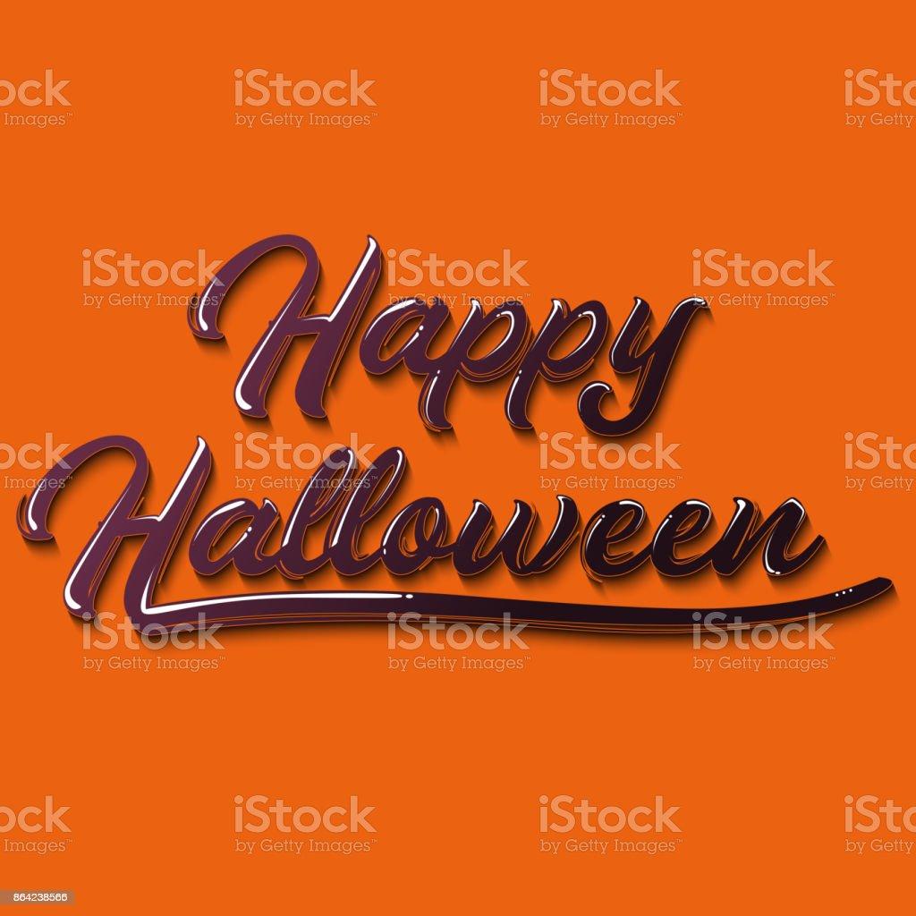 Happy Halloween graffiti typography. Vector illustration. royalty-free happy halloween graffiti typography vector illustration stock vector art & more images of art