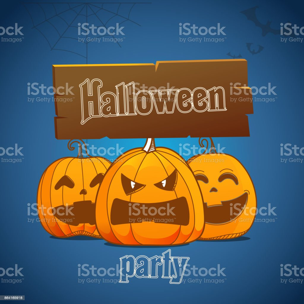Happy Halloween greeting card royalty-free happy halloween greeting card stock vector art & more images of art