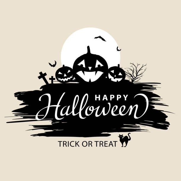 Happy Halloween Lettering 10345 Dryicons