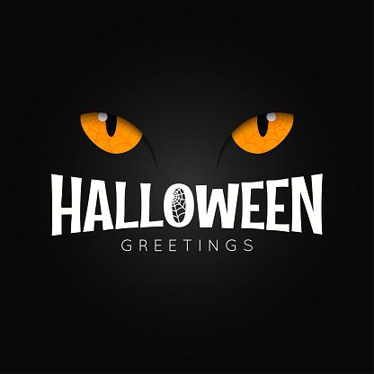 Happy halloween night holiday background