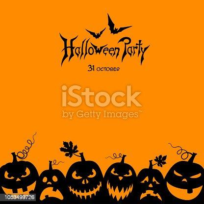 istock Happy Halloween Party 1053499726