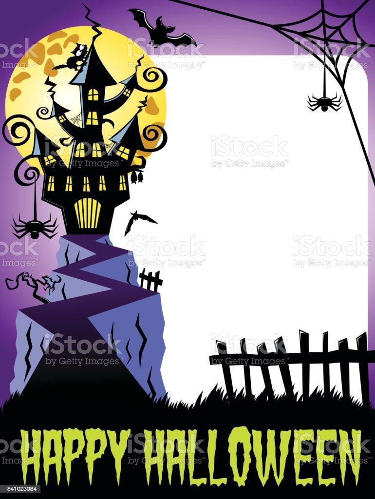 Feliz Halloween Foto Marco Castillo Encantado Vertical Grande Luna ...