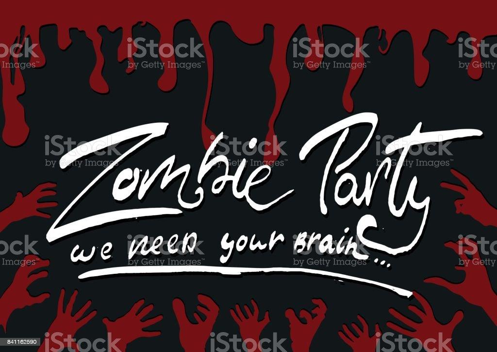 Ilustración De Cartel De Happy Halloween Pancarta Tarjeta