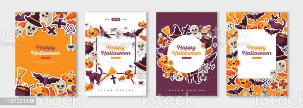Happy halloween posters set vector id1167231438?b=1&k=6&m=1167231438&s=612x612&h=u1z5rvufjrcu2x01lczs1tb2evsu j6kbnudgu8be6u=
