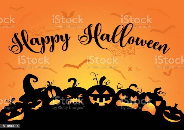 Happy halloween pumpkins vector id821899220?b=1&k=6&m=821899220&s=612x612&h=egz6ms llm87m3bd1sq72nuppoejs6n7oz5v4e9plps=