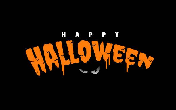 ハッピーハロウィーンテキスト - halloween点のイラスト素材/クリップアート素材/マンガ素材/アイコン素材