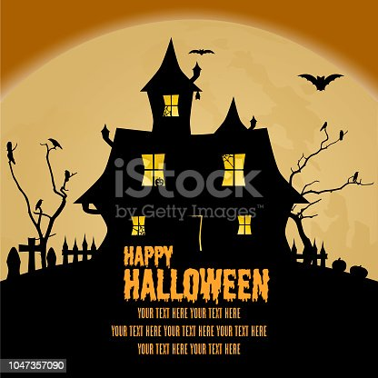 istock Happy Halloween 1047357090