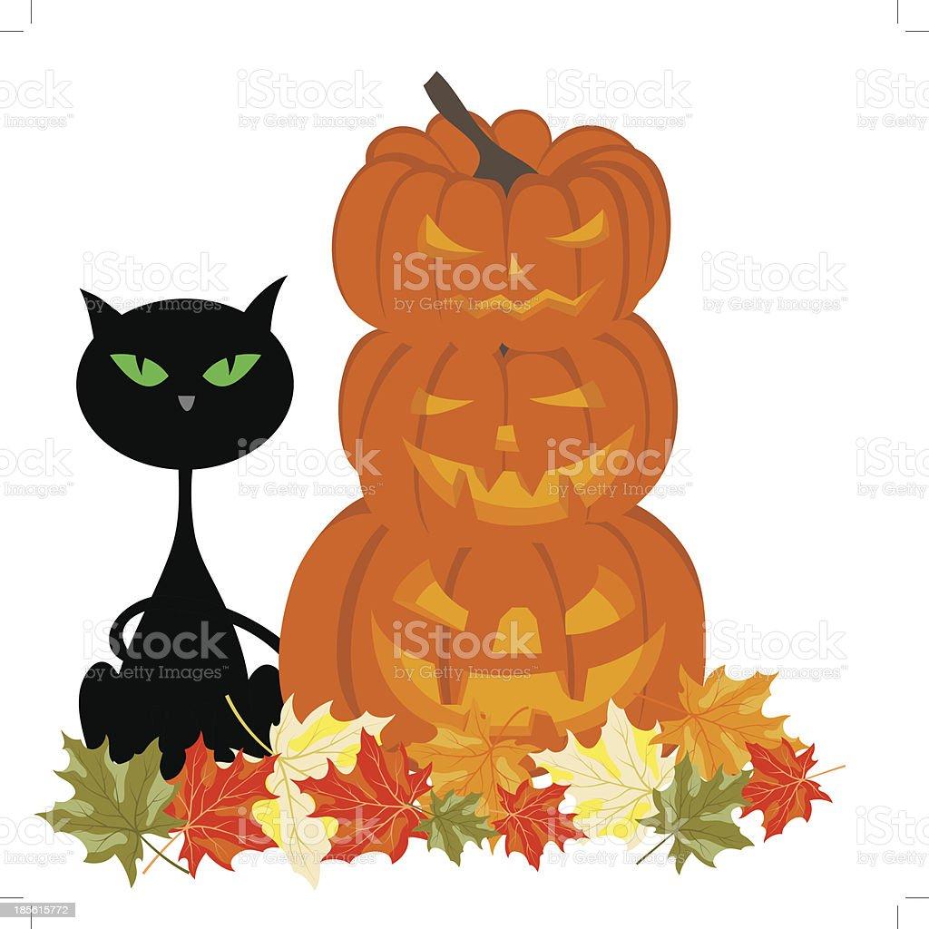 Happy halloween royalty-free happy halloween stock vector art & more images of autumn