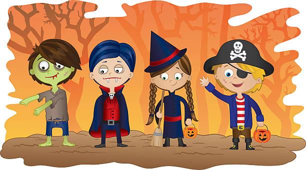 Happy Halloween! vector art illustration
