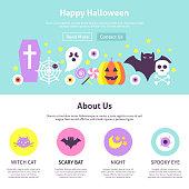 Happy Halloween Website Design