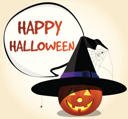 Happy Halloween Witch Jack o' Lantern