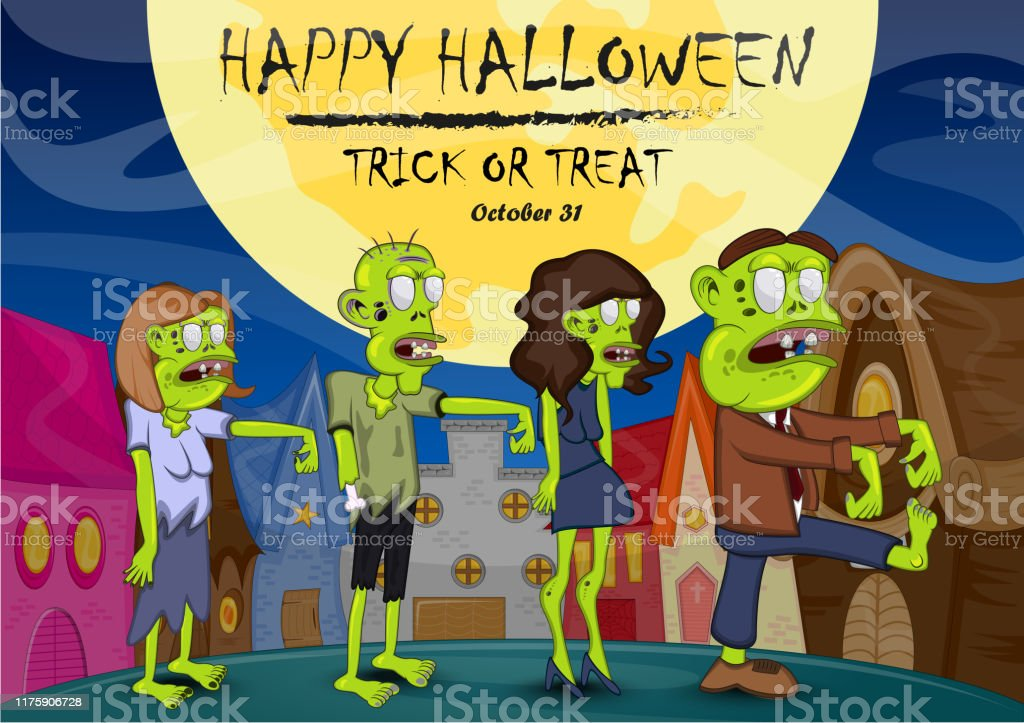 adult halloween cartoon