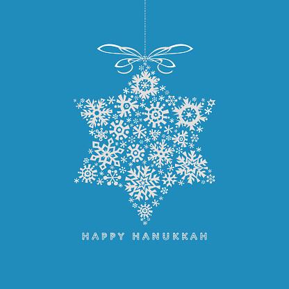 Happy Hanukkah Greetings Card