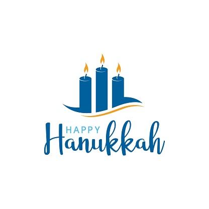 Happy Hanukkah Vector icon design