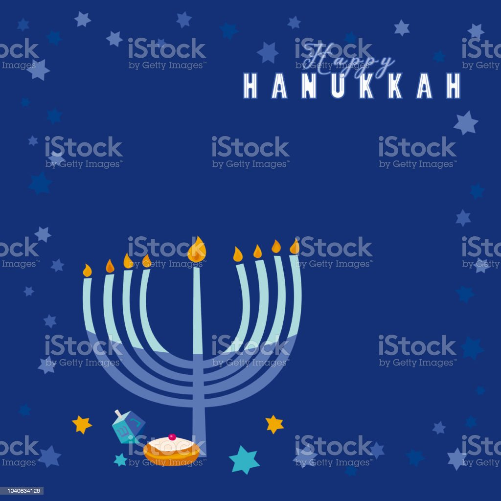 Happy Hanukkah - Royalty-free Backgrounds stock vector