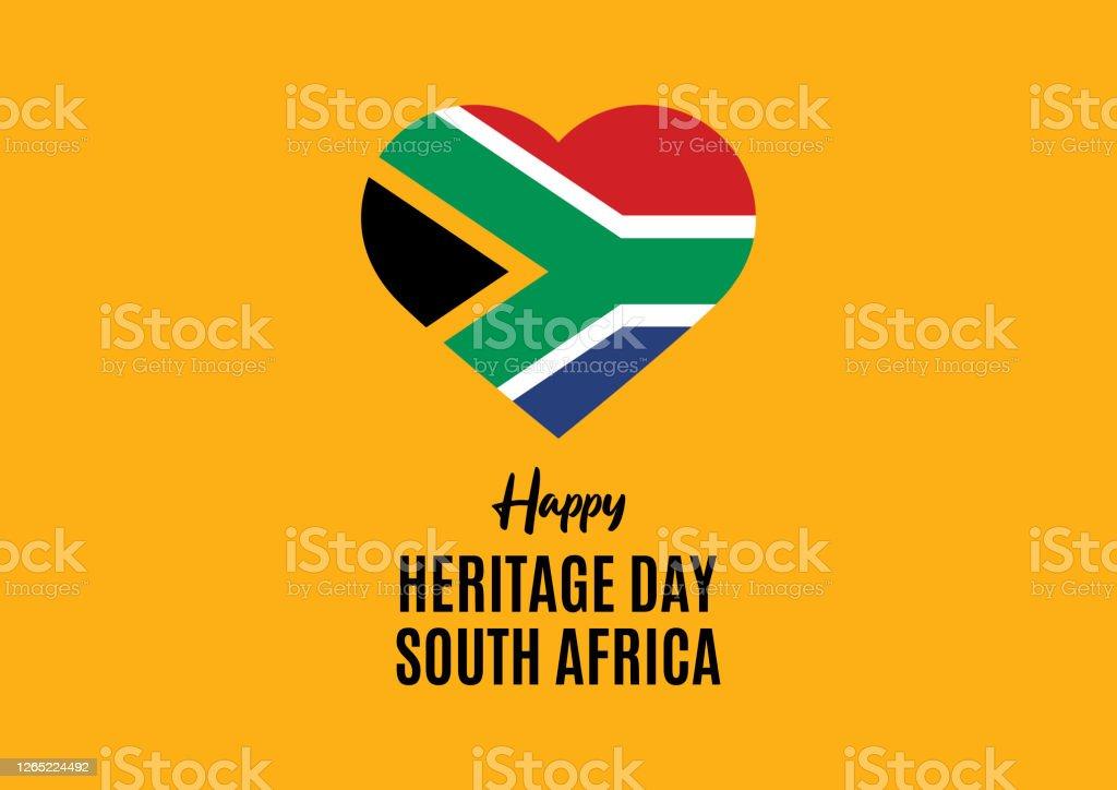 Happy Heritage Day Zuid-Afrika vector - Royalty-free Afrika vectorkunst