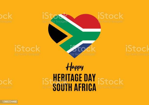 Happy Heritage Day Zuidafrika Vector Stockvectorkunst en meer beelden van Afrika