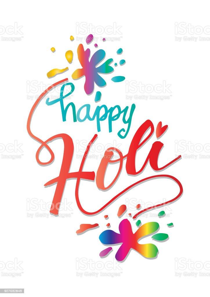Happy holi greeting card stock vector art more images of abstract happy holi greeting card royalty free happy holi greeting card stock vector art amp m4hsunfo