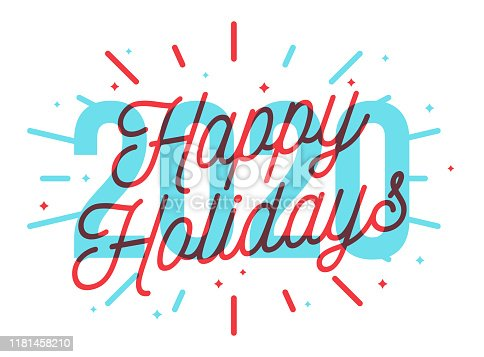 istock Happy Holidays 2020 1181458210