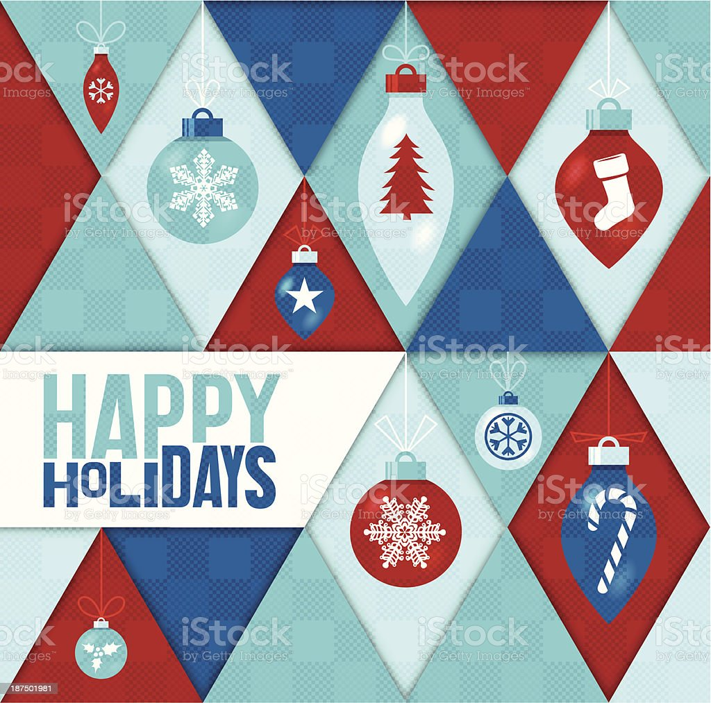 Happy Holidays Background royalty-free happy holidays background stock vector art & more images of abstract