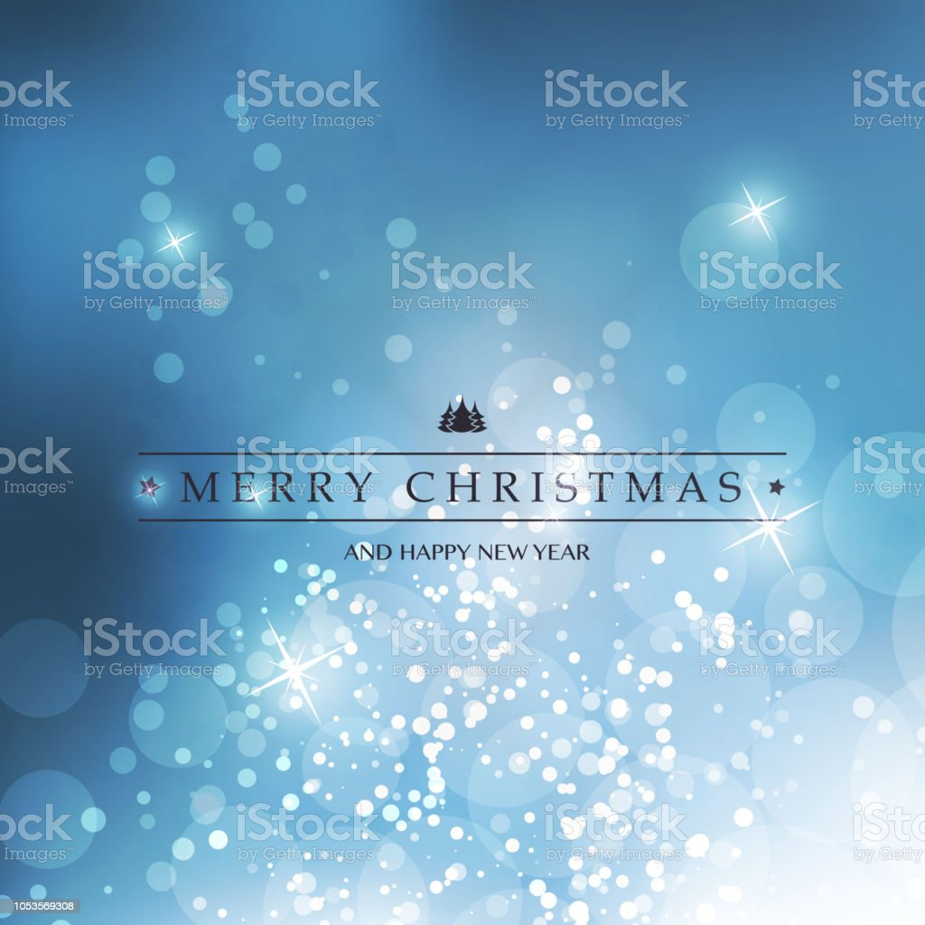 Happy Holidays Card Template – Vektorgrafik