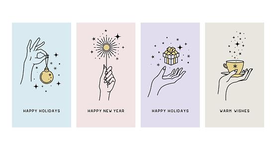 Happy holidays greetings