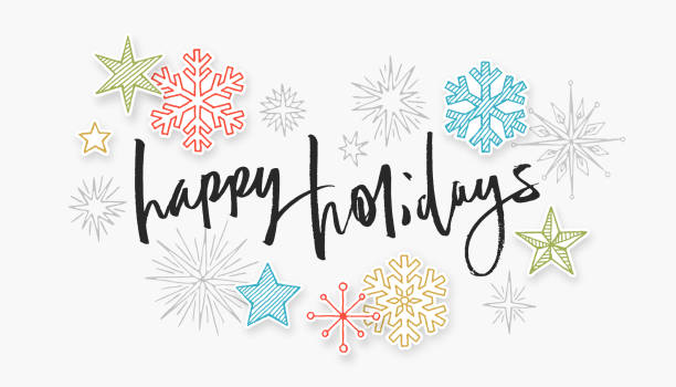 Royalty Free Happy Holidays Clip Art, Vector Images ...