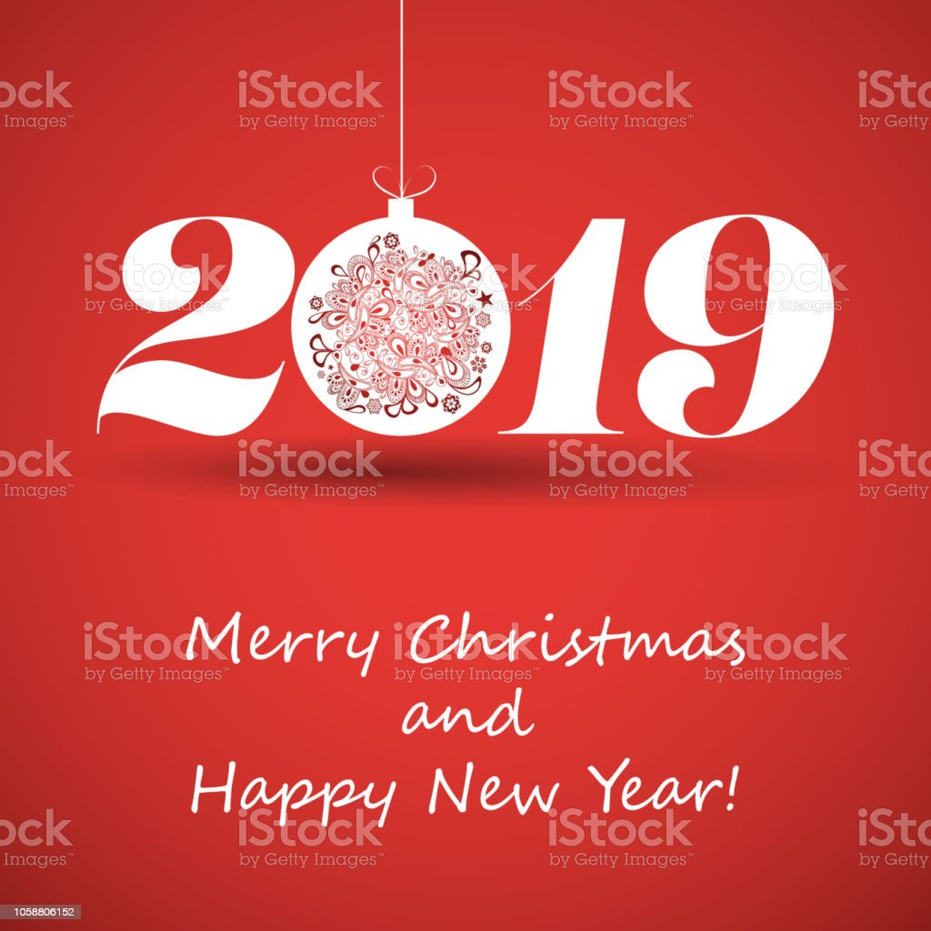 happy holidays new year card template 2019 royalty free happy holidays new year