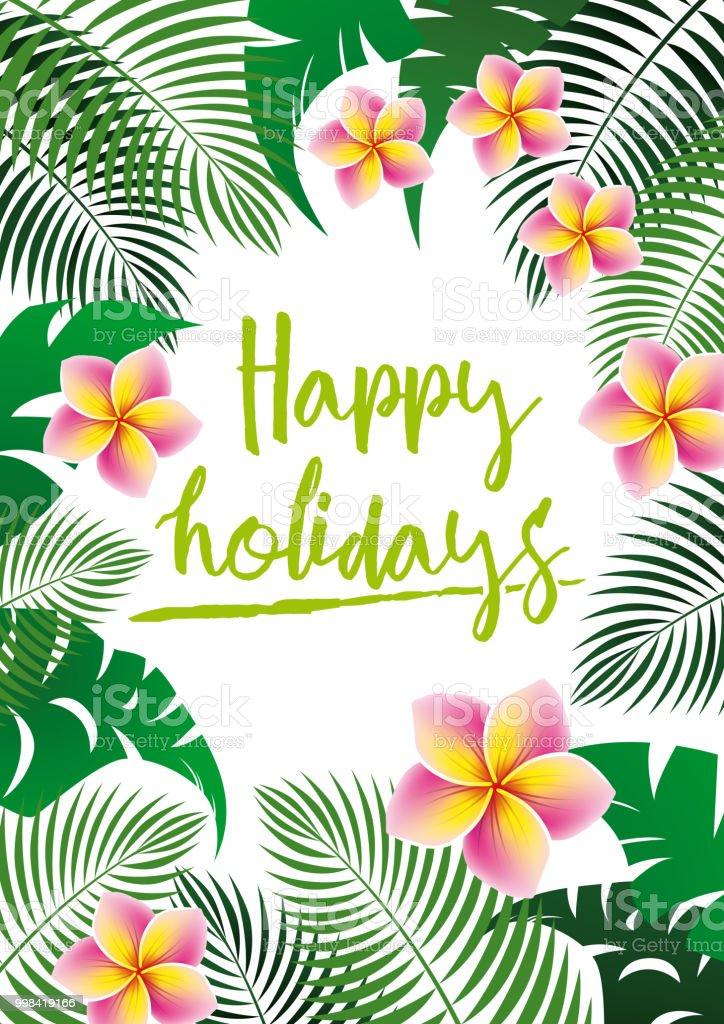 Frohe Weihnachten Hawaii.Frohe Weihnachtenposter Stock Vektor Art Und Mehr Bilder Von Baum