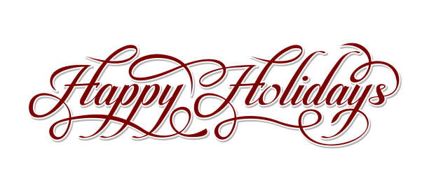 Best Happy Holidays Illustrations, Royalty-Free Vector ...