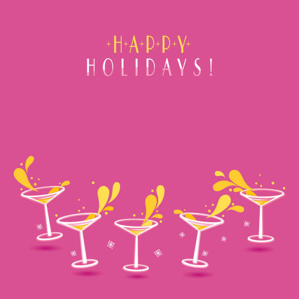 Happy Holidays! vector art illustration
