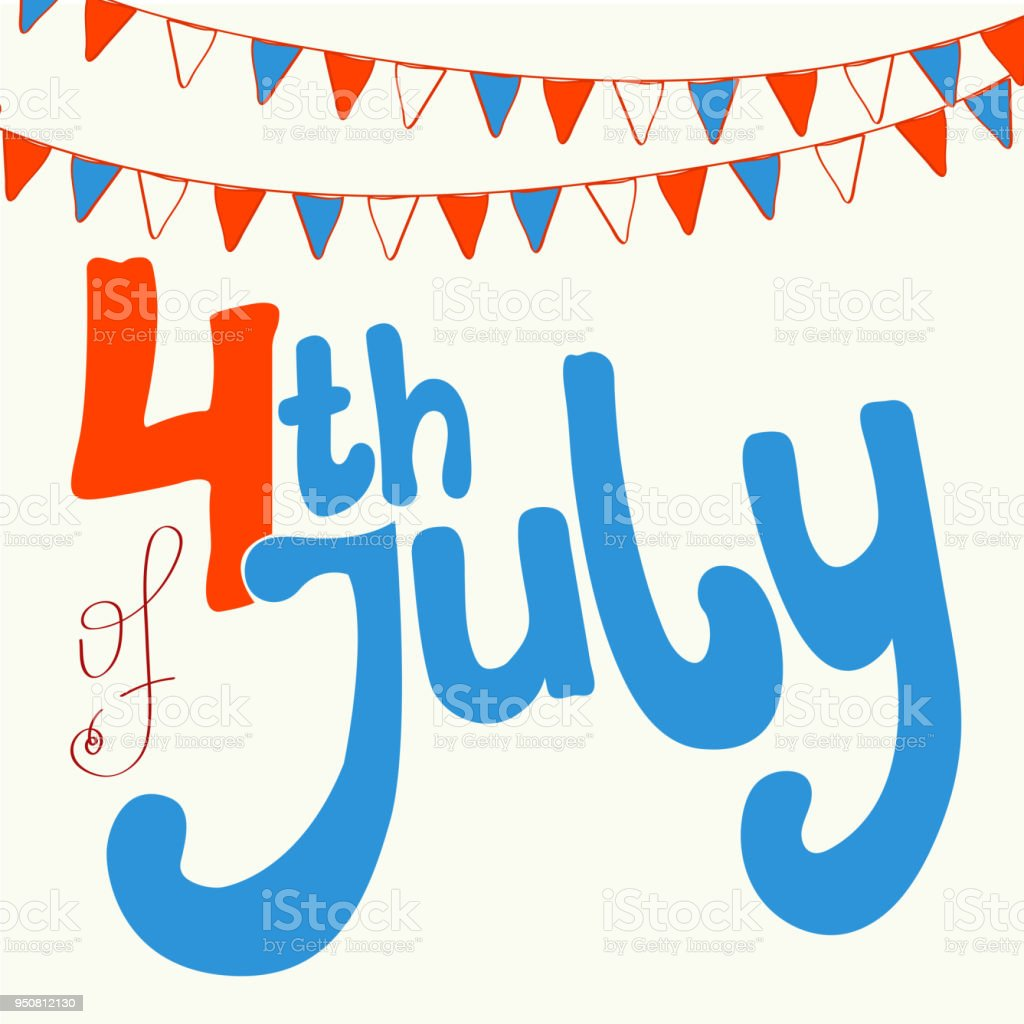 happy independence day card united states of america 4 th of july