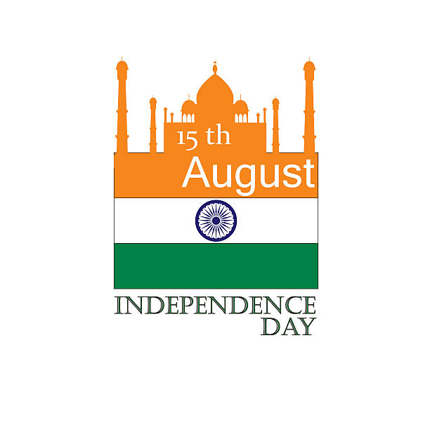 Happy Independence day India, Flyer design for 15th August. vector art illustration