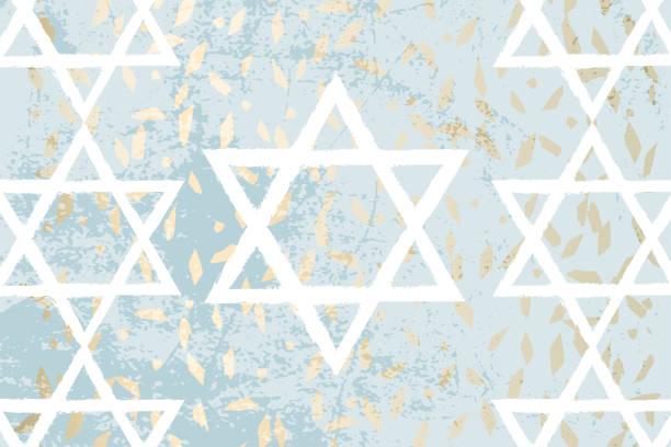 szczęśliwy dzień niepodległości izraela - judaizm stock illustrations