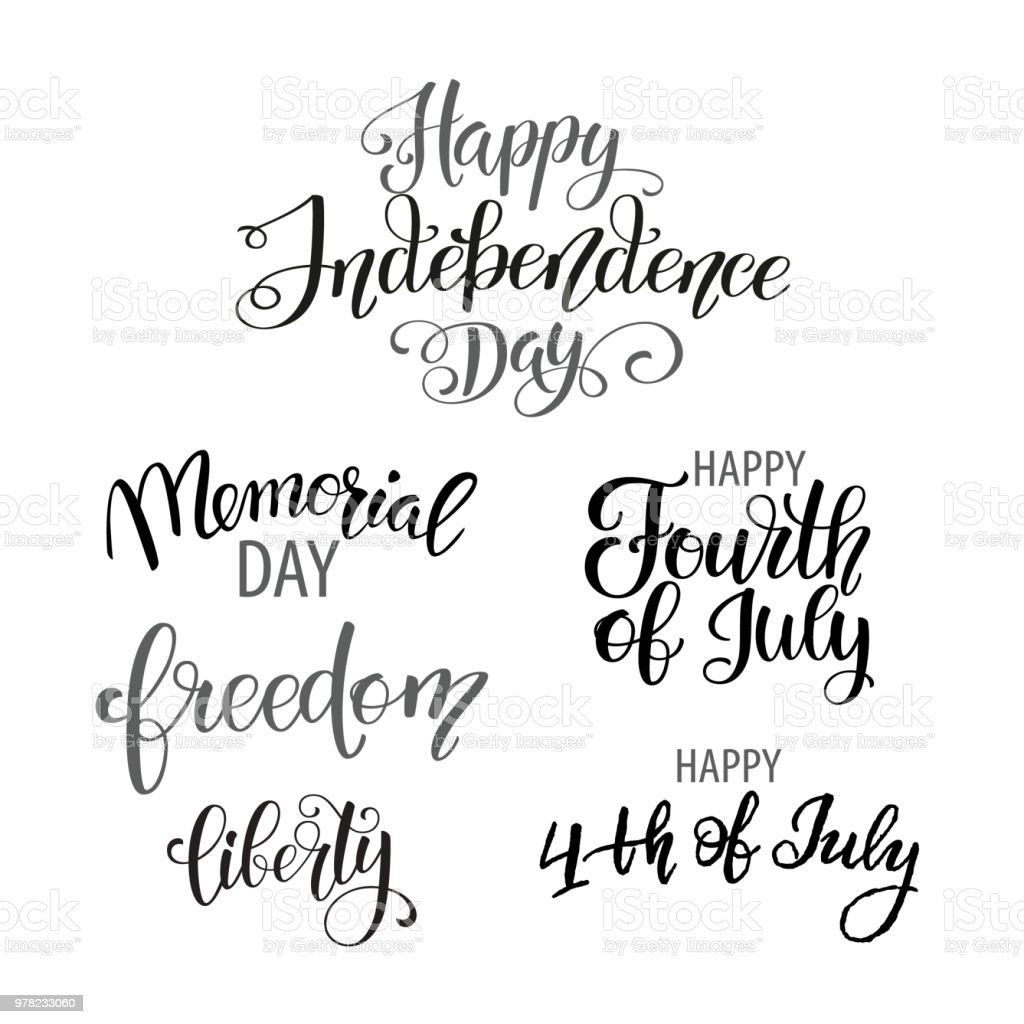 happy independence day usa fourth of july patriotic attributes party