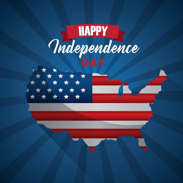 獨立日快樂 - independence day 幅插畫檔、美工圖案、卡通及圖標