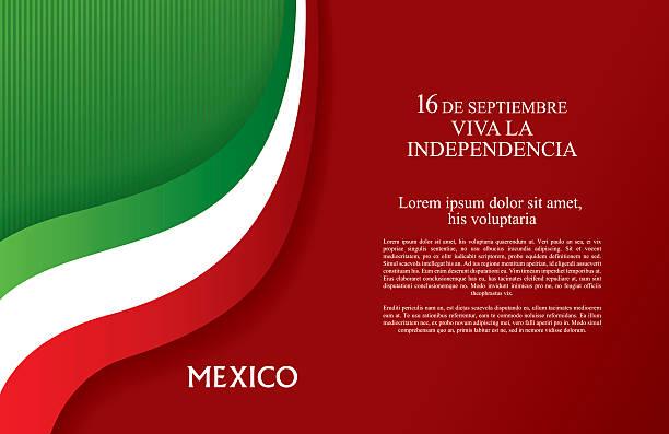 Happy Independence day! Viva Mexico! - ilustração de arte em vetor