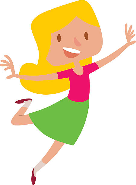Best Excited Girl Illustrations, Royalty-Free Vector ...