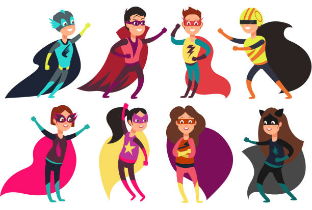 Top 60 Superhero Clip Art Vector Graphics And Illustrations Istock
