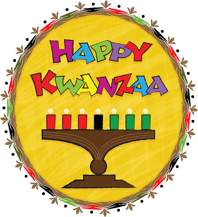 Happy Kwanzaa Clip Art Stock Illustration - Download Image ...