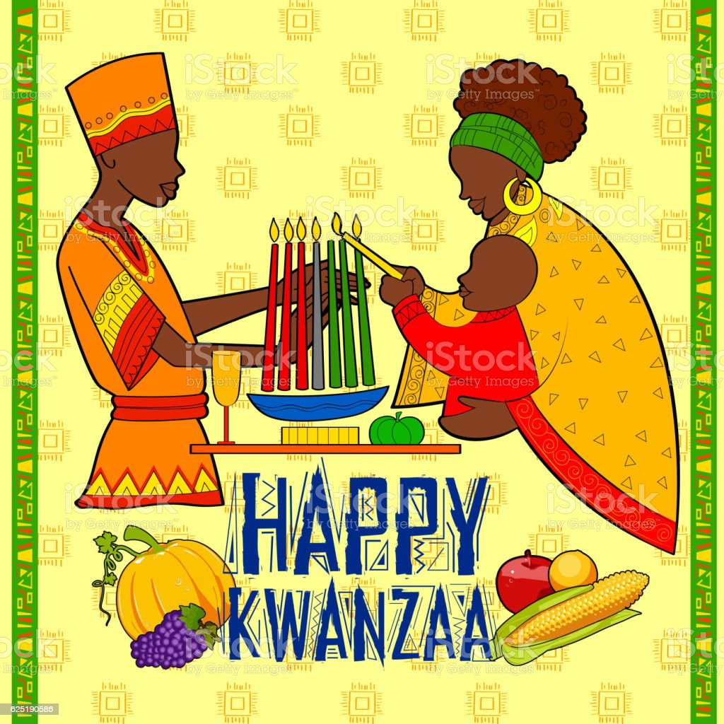 Happy kwanzaa greetings for celebration of african american happy kwanzaa greetings for celebration of african american holiday festival royalty free happy kwanzaa greetings kristyandbryce Image collections