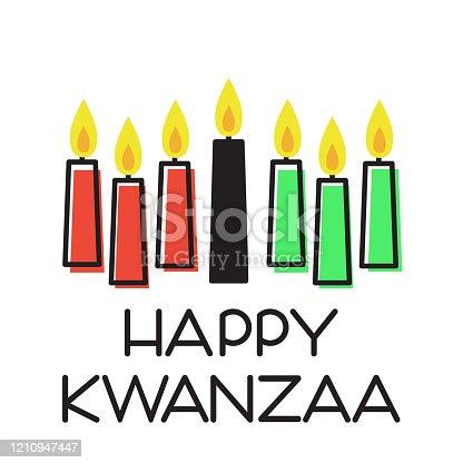 istock Happy Kwanzaa illustration 1210947447