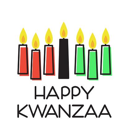 Happy Kwanzaa illustration