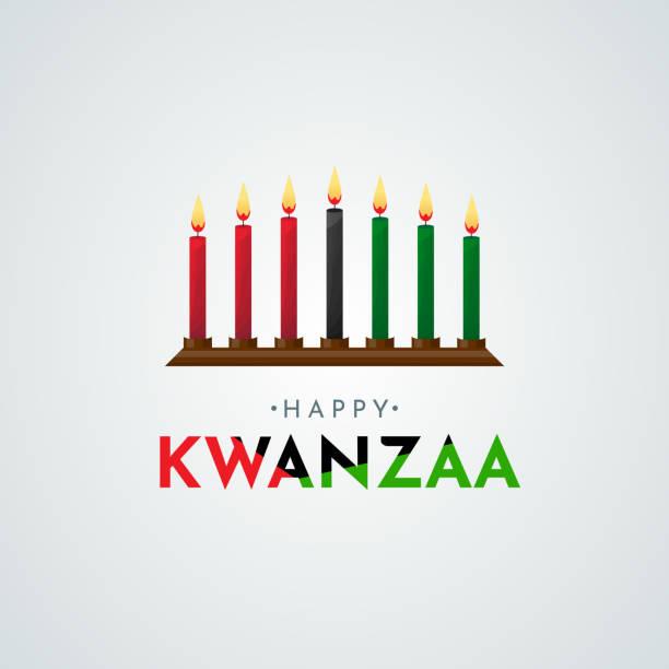 Happy Kwanzaa poster, card. Vector Happy Kwanzaa poster, card. Vector illustration. ESP10 kwanzaa stock illustrations