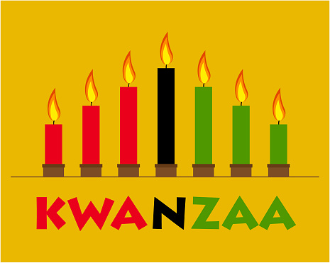 Happy Kwanzaa Stock Illustration - Download Image Now - iStock