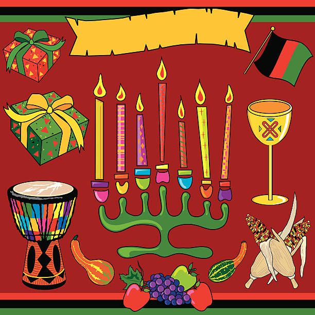 Best Clip Art Of A Kwanzaa Symbols Illustrations, Royalty ...