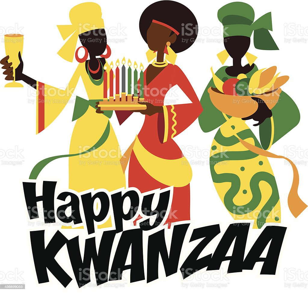 Happy Kwanzaa royalty-free stock vector art