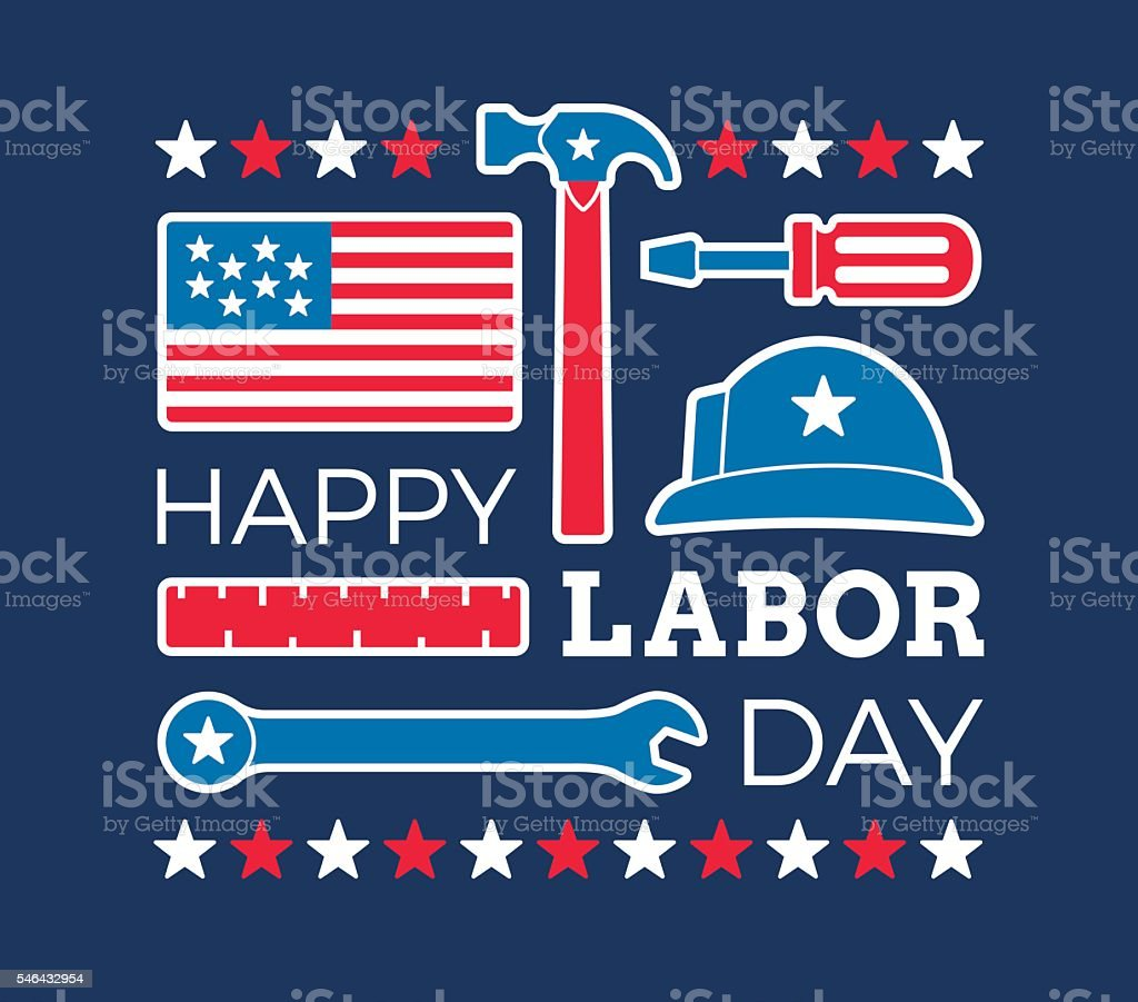royalty free labor day clip art vector images illustrations istock rh istockphoto com clip art labor day black and white clip art labor day picnic