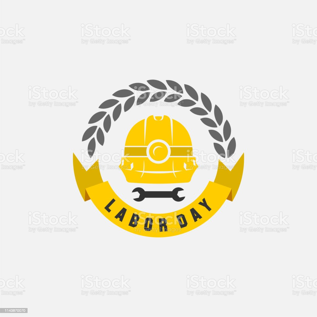 vector illustration happy labour day celebration, workers may day....