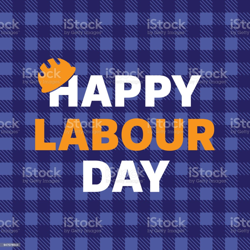 Happy labour day greeting card poster vector stock vector art more happy labour day greeting card poster vector royalty free happy labour day greeting m4hsunfo